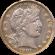 Barber Half Dollar 1892 to 1916