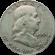 Franklin Half Dollar 1948 to 1963