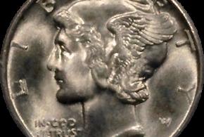 Mercury Dime 1916-1945